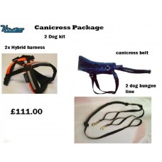 Hooner Canicross Starter Kit for 2 dogs