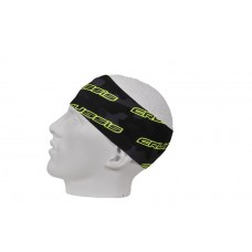 CRUSSIS Headband  – dark camo / flo yellow logo