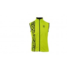 CRUSSIS Neon Yellow sleeveless  Jacket