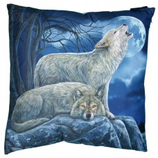 Howling Wolves Cushion