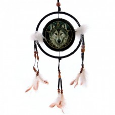 Decorative Wolf head 16cm Dreamcatcher