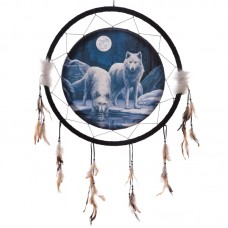 Decorative Wolf Warriors of Winter 60cm Dreamcatcher