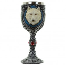 Decorative Wolf Goblet