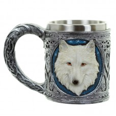 Decorative Wolf Tankard