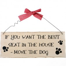 If you want the best seat wall plaque